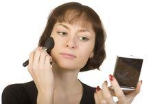 Free Morning Make -up Royalty Free Stock Images - 5713849