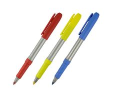 Free Colored Markers Stock Photography - 5714522