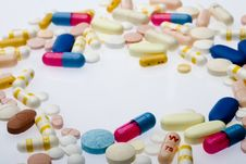 Free Pilla And Capsules Stock Photography - 5714602