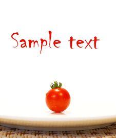 Free Ripe Tomato Royalty Free Stock Image - 5715396
