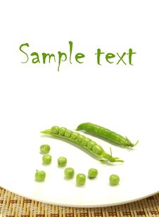 Free Green Pea Royalty Free Stock Image - 5715406
