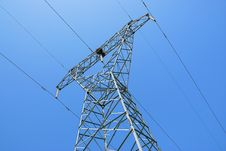 Free Power Pylon Royalty Free Stock Photo - 5715445