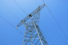 Free Power Pylon Royalty Free Stock Photo - 5715445