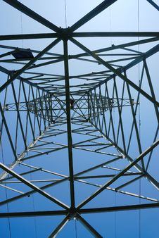 Free Power Pylon Royalty Free Stock Images - 5715479
