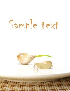 Free Garlic Isolated Stock Photos - 5715623