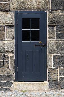 Door Inside Halifax Citadel Stock Photography
