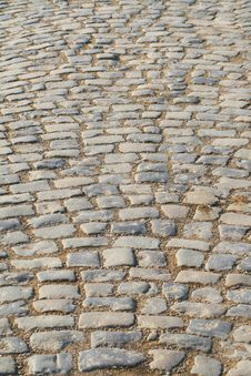 Free Cobblestone Road Royalty Free Stock Images - 5717179