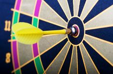 Free Magnetic Dart Board With Darts Stock Photo - 5717380