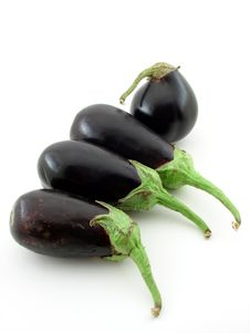 Free Eggplants Royalty Free Stock Image - 5717446