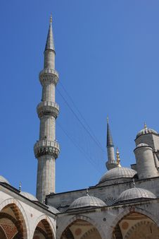 Free Blue Mosque Stock Photo - 5717620