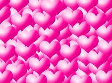 Free Hearts Background Stock Photo - 5717850