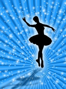Free Dance In The Stars Royalty Free Stock Images - 5717859