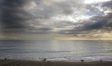 Free Beach And Clouds Stock Photos - 5718083