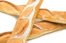 Free Three Baguette Royalty Free Stock Photos - 5718098