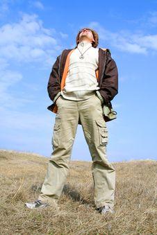 Free Man Tourist Stock Images - 5718694