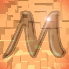 Free Alphabet Series: Letter M Stock Images - 5719584