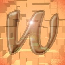 Free Alphabet Series: Letter W Stock Photo - 5719740