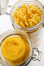 Free Pasta In Glass Can Royalty Free Stock Photos - 5720088