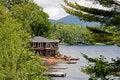 Free House On The Lake Stock Photos - 5722553
