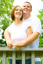 Free Caucasian Couple Enjoying Panorama Stock Photo - 5723250