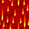 Free Abstract Flame Seamless Pattern Royalty Free Stock Images - 5725149