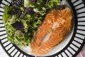 Free Salmon Steak Stock Image - 5725611
