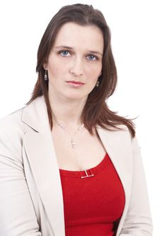 Free Beautiful Brunette Businesswoman Stock Photo - 5720370