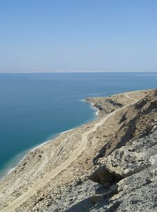 Free View Of The Dead Sea Royalty Free Stock Image - 5721426