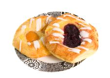 Free Apricot And Berry Danish Pastries Royalty Free Stock Images - 5721789