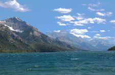 Upper Waterton Lake Stock Images