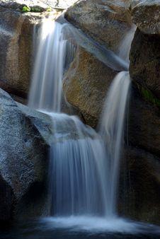 Sierra Waterfall Royalty Free Stock Photos