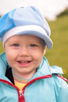 Portrait Of Child Stock Photo
