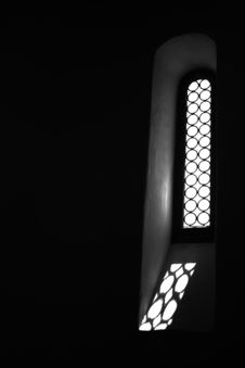 Free Black And White Window Stock Image - 5723221