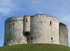 Free Castle On Mound Stock Image - 5724201
