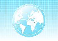 Free Modern World Map Clock Stock Photos - 5724633