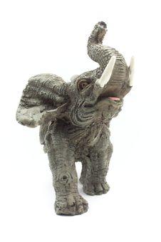 Elephant Figurine Royalty Free Stock Photography