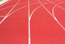 Free Track On The Stadium Royalty Free Stock Photos - 5724788