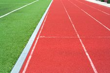Free Track On The Stadium Royalty Free Stock Images - 5724859