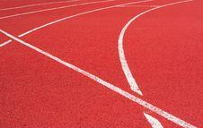 Free Track On The Stadium Royalty Free Stock Photos - 5724988