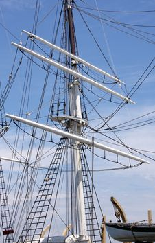 Free Ship Mast Royalty Free Stock Photos - 5725038