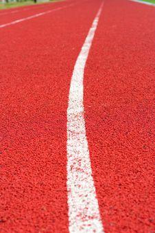 Free Track On The Stadium Royalty Free Stock Photos - 5725078