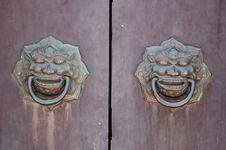 Free Ancient Door Opener Stock Images - 5725204