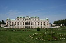 Free Summer Palace Belvedere Royalty Free Stock Photos - 5725228