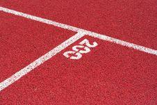 Free Track On The Stadium Stock Photo - 5725320