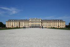 Free Schoenbrunn Palace, Vienna Royalty Free Stock Photos - 5725418