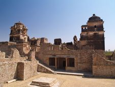 Free Chittorgarh Citadel Ruins In Rajasthan, India Royalty Free Stock Photography - 5726007