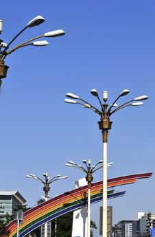 Free Street Lamp Royalty Free Stock Photos - 5726658