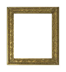 Free Golden Picture Frame Stock Images - 5727134