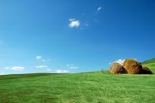 Free Haystacks Stock Photography - 5727202