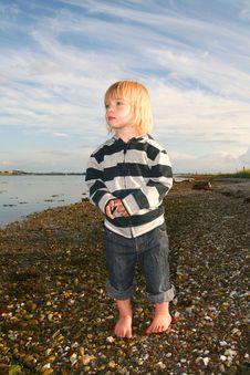 Free Child Sea Royalty Free Stock Image - 5727456
